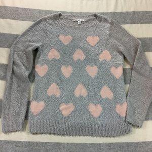 Lauren Conrad hearts sweater Medium
